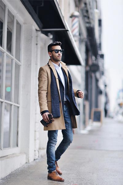 Winter work outfits for men