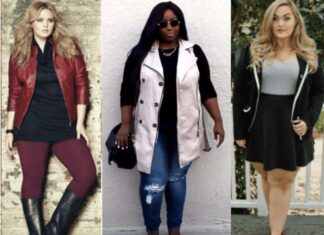 what to wear in winter if I'm fat