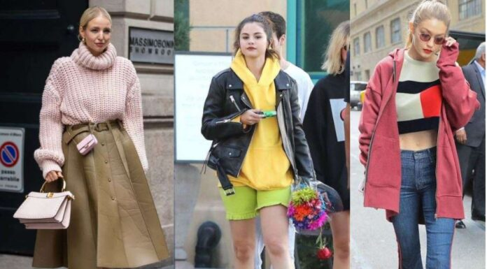 Winter Street Styles Celebrity Looks