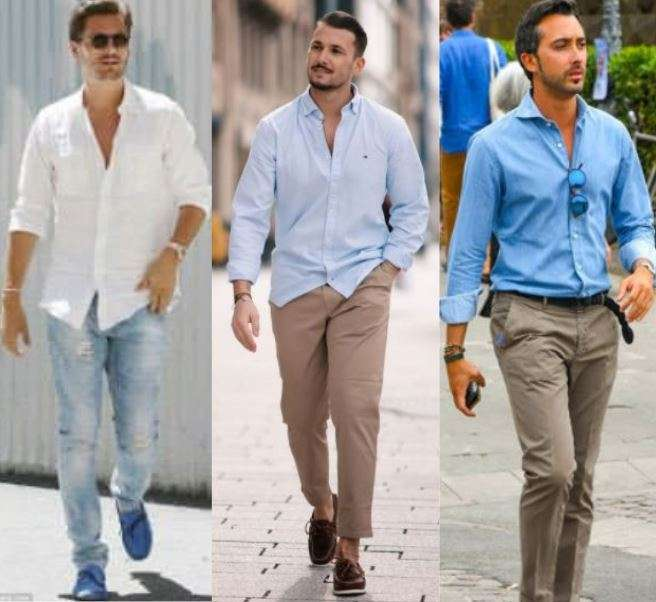 Summer business casual