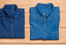 denim shirts for men
