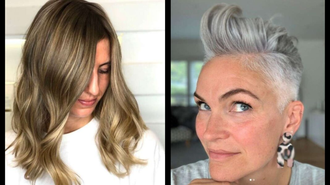 Hair Colors for Women Over 50